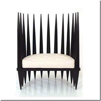chaise africaine moderne
